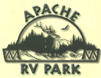 Apache RV Park, Western New Mexico, USA Camping